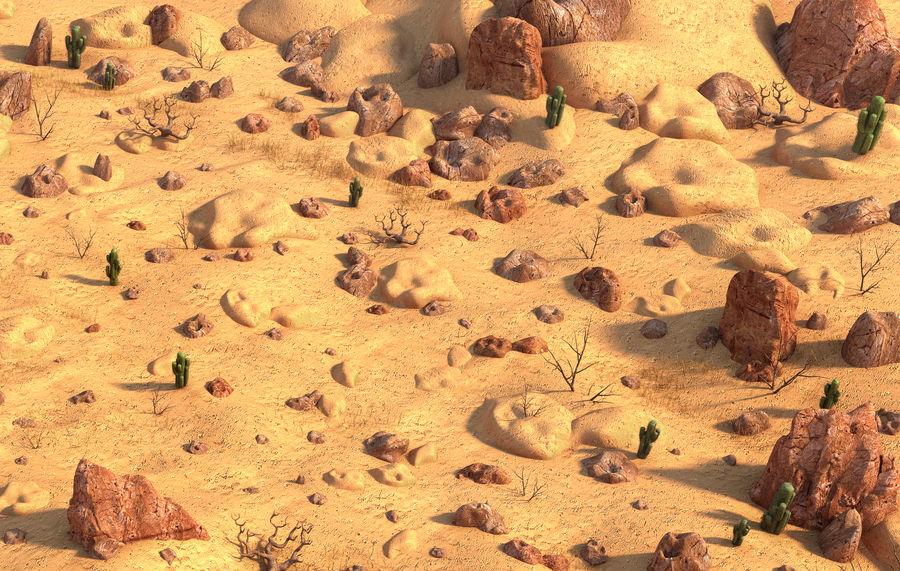 Ambiente desertico royalty-free 3d model - Preview no. 5