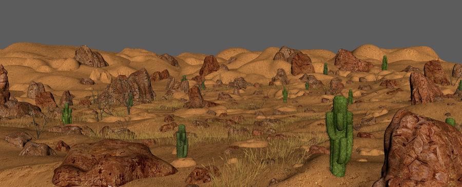 Ambiente desertico royalty-free 3d model - Preview no. 8