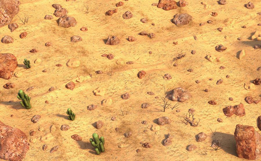 Desert Environment royalty-free 3d model - Preview no. 3