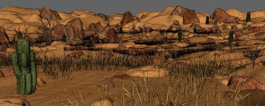 Ambiente desertico royalty-free 3d model - Preview no. 18