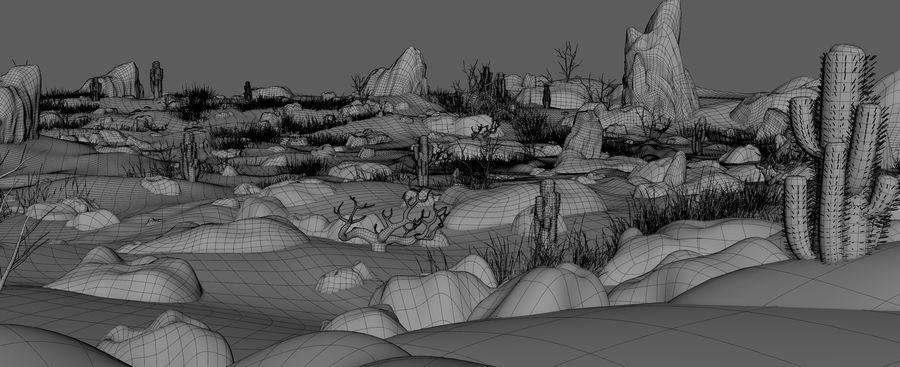 Ambiente desertico royalty-free 3d model - Preview no. 17