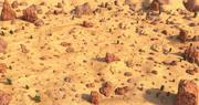 Ambiente do deserto 3d model