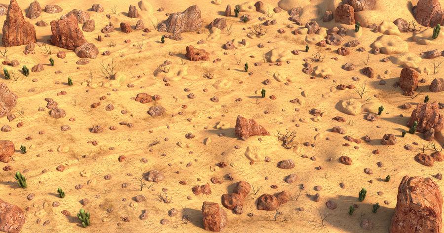 Ambiente desertico royalty-free 3d model - Preview no. 1