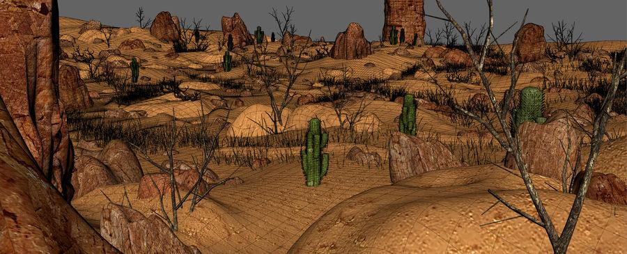 Ambiente desertico royalty-free 3d model - Preview no. 19