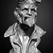 Hellboy 3d model