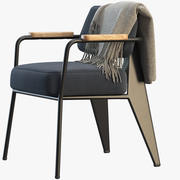 Fauteuil Richting Vitra 3d model