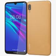 Huawei Y6 2019 Amber Brown 3d model