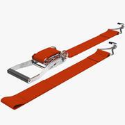 Logistic Ratchet Strap V2 3d model