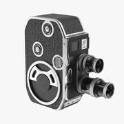 Bolex Paillard B8 Vintage Camera 3d model