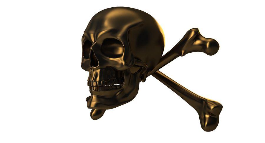 Crâne et os royalty-free 3d model - Preview no. 14
