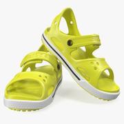 Crocs Unisex Kids Sandals 3d model