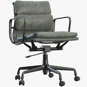 Soft Pad Chair EA 217 3d model