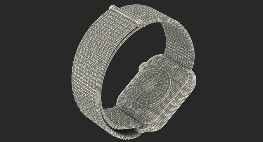 Seashell 스포츠 루프가 장착 된 화이트 Apple Watch royalty-free 3d model - Preview no. 48