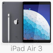 Apple iPad Air 10,5 polegadas 2019 3d model
