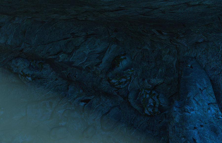 Jaskinia jaskiniowa royalty-free 3d model - Preview no. 8