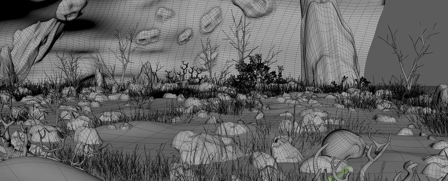 洞穴洞穴 royalty-free 3d model - Preview no. 19