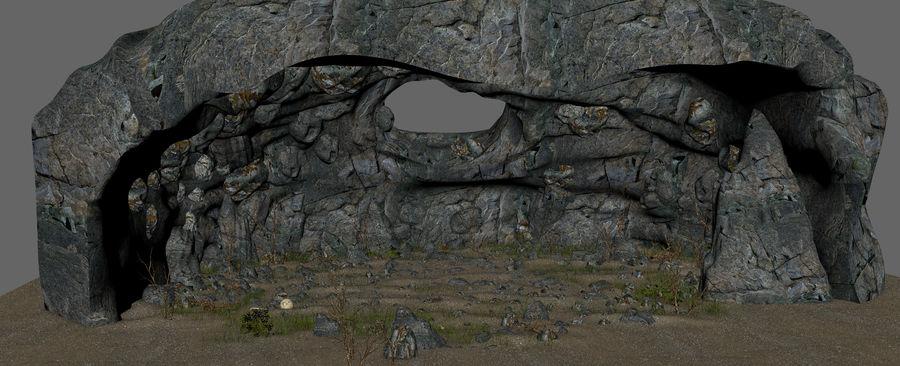 Jaskinia jaskiniowa royalty-free 3d model - Preview no. 12