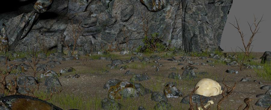 Jaskinia jaskiniowa royalty-free 3d model - Preview no. 18