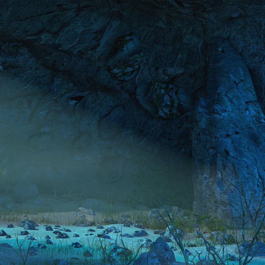 洞穴洞穴 royalty-free 3d model - Preview no. 9