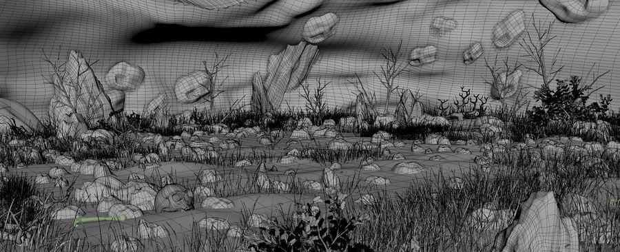 洞穴洞穴 royalty-free 3d model - Preview no. 15