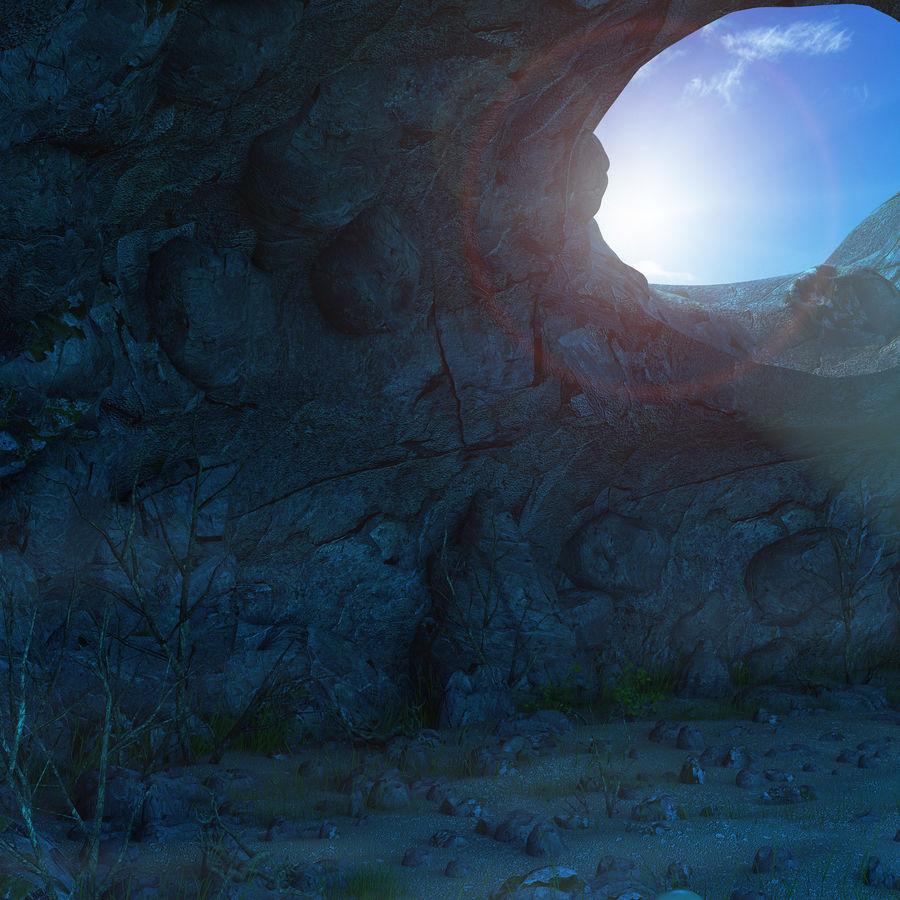 Jaskinia jaskiniowa royalty-free 3d model - Preview no. 11