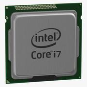 procesor Intel i7-6700k 3d model