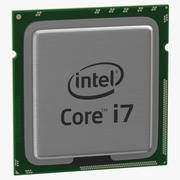 Procesor Intel i7-920 3d model