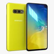 三星Galaxy S10e金丝雀黄 3d model