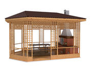 Mandril de gazebo 3d model
