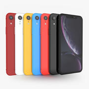 Apple iPhone Xr In All Corols 3d model