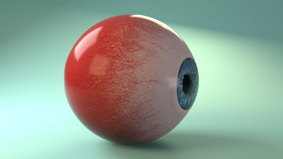 Photorealistic Human Eye_Animated royalty-free 3d model - Preview no. 12