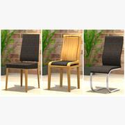 Dining Chair Set 3d model
