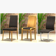 Dining Chair Set 3d model