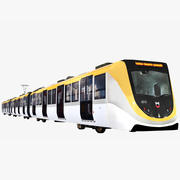 지하철 3d model
