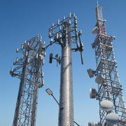 Telecommunication Towers collection 3d model