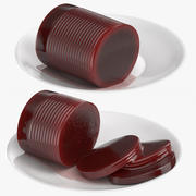 蔓越莓罐头 3d model