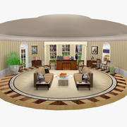 Oval Office 3d model