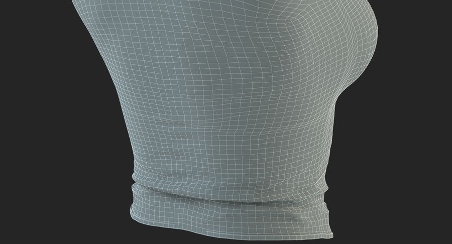 Chemise Sexy Femme royalty-free 3d model - Preview no. 49