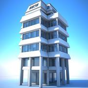 Şehir Binası - Genel Beyaz 3d model