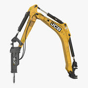 Uzbrój za pomocą modelu 3D HM012T Breaker Rigged 3d model