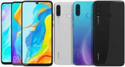 Huawei P30 Lite Todos los colores modelo 3d