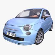 Generic Italian hatchback 3d model