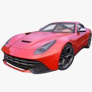 Generieke Italiaanse Supercar 3d model