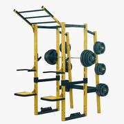 Crossfit Rack 3d model