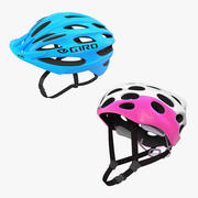 Bicycle Helmets 3D Models Collection 3d model