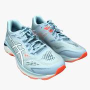Chaussures de course Asics 3d model