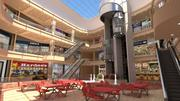 Mall interiör 3d model