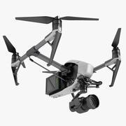 DJI Inspire 2 Fly 3d model