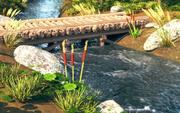 Floden animerad 3d model