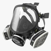 3M 7000系列硅胶呼吸器 3d model